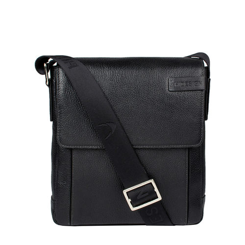 Travolta 03 Men s Cross Body, New Siberia Regular Split,  black