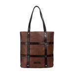 Hidesign x Kalki Freedom 02 Women s Handbag, Waxed Split Regular,  tan
