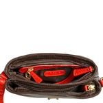 Sb Silvia 03 Women s Handbag, Snake Ranchero,  red
