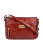 KATNISS 01 SB WOMENS HANDBAG CROCO POLISHED,  marsala