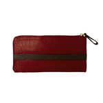 Sb Atria W2 Women s Wallet, Cement Croco Ranchero,  red