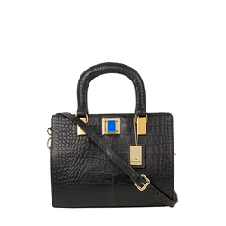 Earley 02 Women's Handbag, Cement Croco,  black