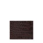 SIRIUS W1 SB (RFID) MEN S WALLET CROCO,  brown