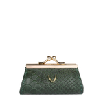 Mia Coin Pouch Snake,  green