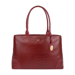 EE BERLIN 01 WOMENS HANDBAG CROCO,  red
