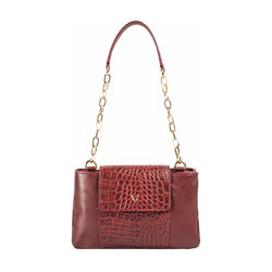 Aquarius 01 Women's Handbag Croco,  marsala