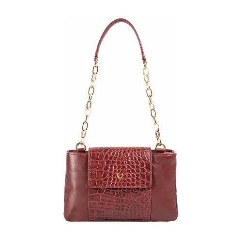 Aquarius 01 Women s Handbag Croco,  marsala