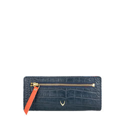 Jupiter W1 Sb (Rfid) Women's Wallet, Croco Melbourne Ranch,  blue