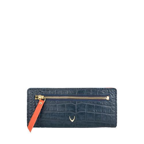 Jupiter W1 Sb (Rfid) Women s Wallet, Croco Melbourne Ranch,  blue