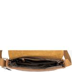 Stephenson 03 Men s Messanger Bag, Soho,  tan