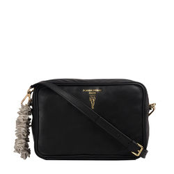 Elaine 02 Crossbody, Milano,  black