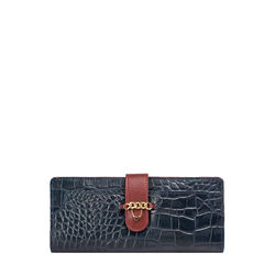 Sb Atria W1 (Rfid) Women's Wallet Croco,  midnight blue