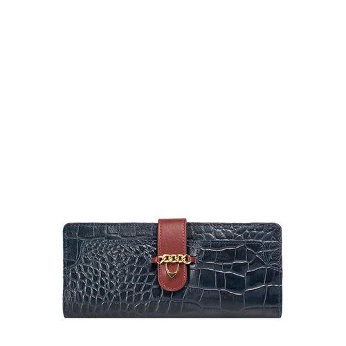 Sb Atria W1 (Rfid) Women s Wallet Croco,  midnight blue