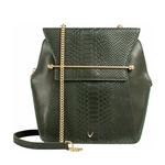 DELILAH 02 LADIES HAND BAG SNAKE,  green