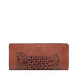 BELLE STAR W2 (RF) WOMENS WALLET EI EMBOSS,  brown