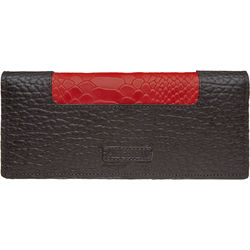 Sb Olivia W1 Women's Wallet, Cement Pebble Snake Lamb,  brown, pebble