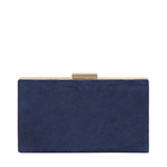 COLETTE 01 WOMENS WALLET SUEDE,  midnight blue