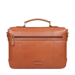 MERLIN 02 BRIEFCASE SIBERIA,  tan