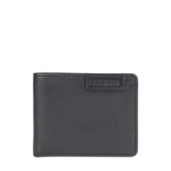 EE URANUS W2(RFID) MENS WALLET REGULAR PRINTED,  black
