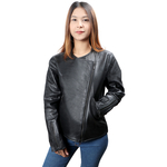 SANSA WOMENS JACKET SHEEP,  black, m