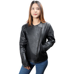 SANSA WOMENS JACKET SHEEP, l,  black