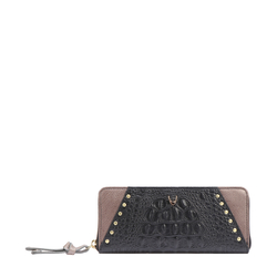 SPEAK EASY W2 (RFID) WOMEN'S WALLET BABY CROCO,  black