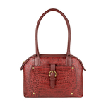 Mercury 01 Sb Women s Handbag, Cow Croco Melbourne Ranch,  red