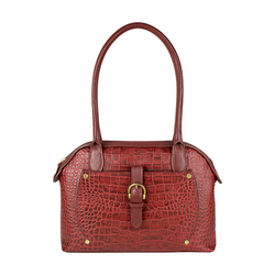 Mercury 01 Sb Women's Handbag, Cow Croco Melbourne Ranch,  red