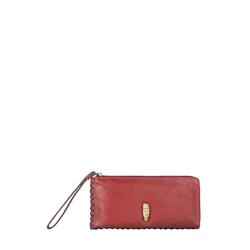 Kiboko W1 (Rfid) Women's Wallet, Kalahari Mel Ranch,  red