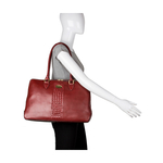 Treccia 02 Women s Handbag, Soho,  red