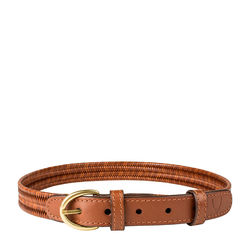 Florence Womens Belt Ranchero, M,  tan