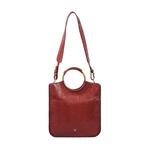 Mimosa 01 Women s Handbag EI Goat,  marsala