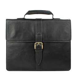 Ee Bennett 1 Briefcase, Regular Printed,  black