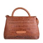 Epocca 03 Women s Handbag, Croco Melbourne Ranch,  tan