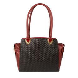 Ee Liya 02 Handbag, woven,  brown