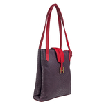 Sb Silvia 01 Women s Handbag, Snake Ranchero,  purple