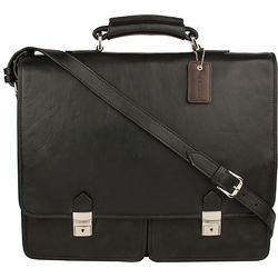 Bentley Parma Briefcase,  black, regular