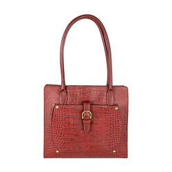 Mercury 02 Sb Women's Handbag, Cow Croco Melbourne Ranch,  red