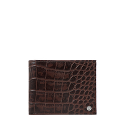 ALTAIR W1 SB (RF) MEN'S WALLET CROCO,  brown