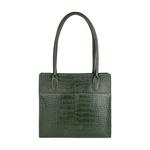 Mercury 02 Sb Women s Handbag, Cow Croco Melbourne Ranch,  green