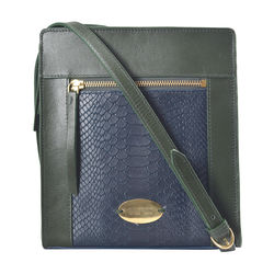 Libra 03 Sb Women's Handbag, Melbourne Ranch Snake,  emerald