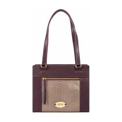 Libra 01 Sb Women's Handbag Melbourne Ranch,  aubergine