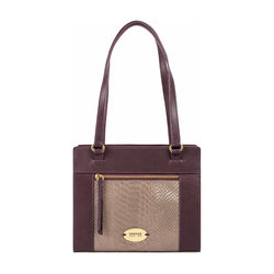 Libra 01 Sb Women's Handbag Melbourne Ranch,  aubergine