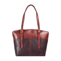 Virgo 01 Sb Women's Handbag Snake,  aubergine