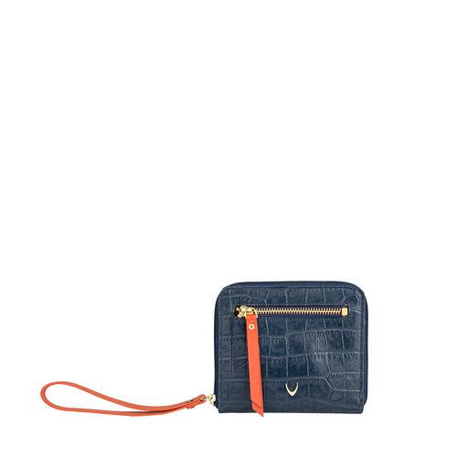 Jupiter W3 Sb (Rfid) Women s Wallet, Croco Melbourne Ranch,  blue