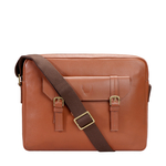 EE RONALDO  02 MESSENGER BAG REGULAR PRINTED,  tan