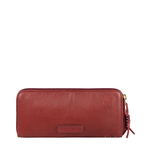 SADHAVI W1 RF WOMENS WALLET COW BOY,  marsala