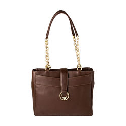 Azha 02 Handbag, ranchero,  brown