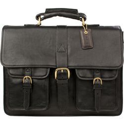 Castello Briefcase,  black, ranchero