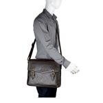 Douglas 02 Men s Messenger Bag, Regular Split,  brown